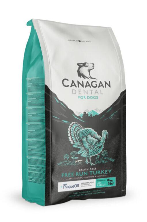 Canagan Dog Food Turkey Dental 2kg