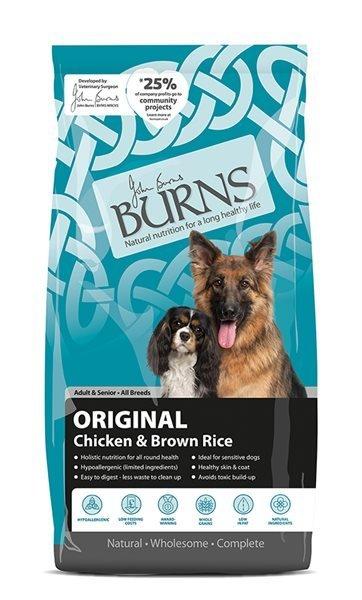 Burns Dog Original Chicken & Brown Rice 2Kg