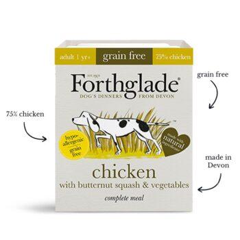 Forthglade Complete Grain Free Chicken 395g