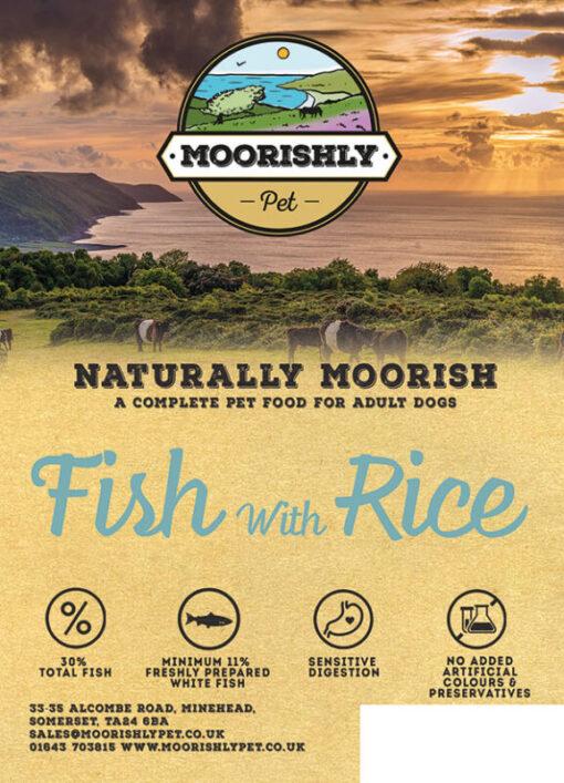 Naturally Moorish Dog Food with Fish and Rice
