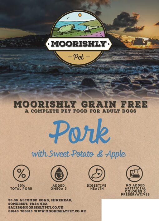 Grain Free Dog Food Pork