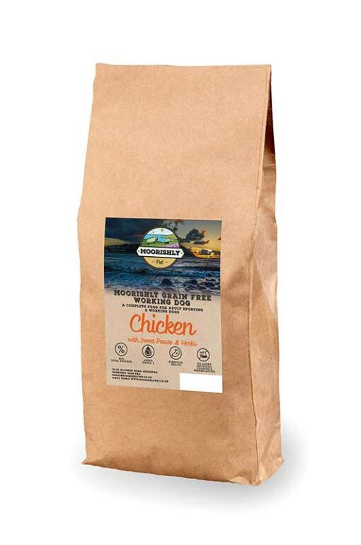 Grain Free Working Dog Food Chicken