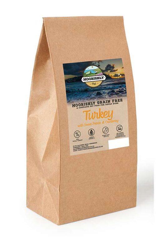 Moorishly Grain Free Dog Food Turkey