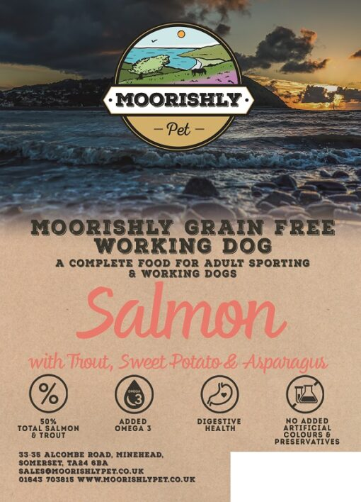 Moorishly Grain Free Working Dog Food