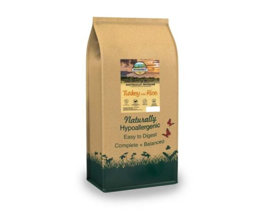 Naturally Moorish Quality Puppy Dog Food with Turkey and Rice 2kg