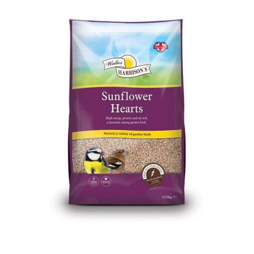 Walter Harrisons Sunflower Hearts 12.75kg