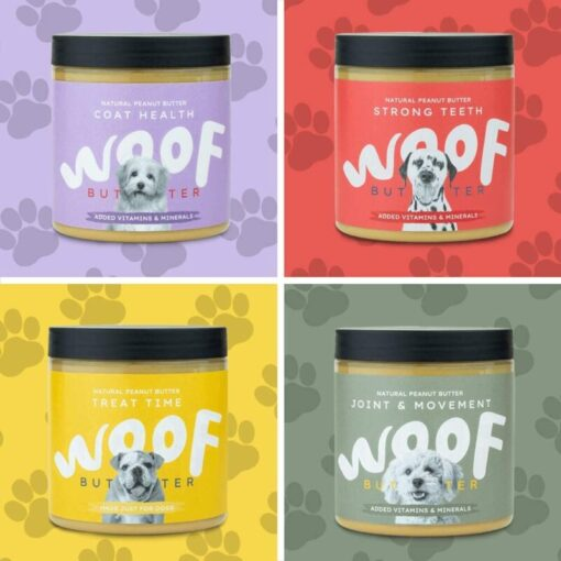 Woof Peanut Butter for Dogs