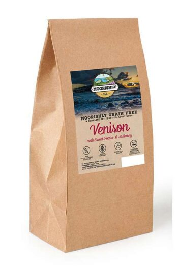 Moorishly Grain Free Working Dog Food Venison
