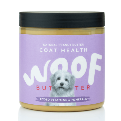 Woof Peanut Butter for Dogs - Coat Health 250g