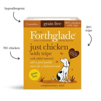 Forthglade Just Chicken and Tripe 395g