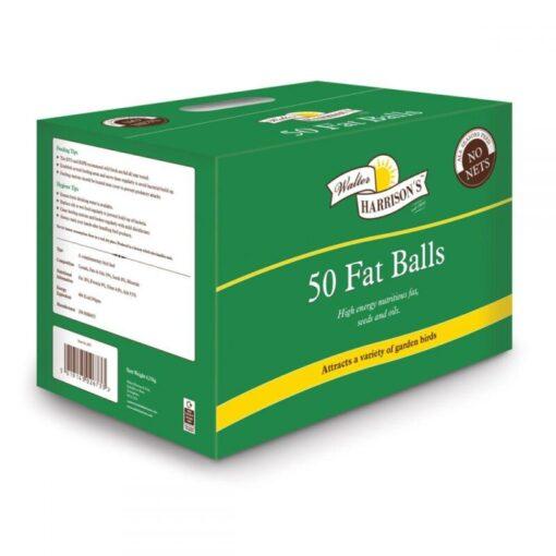 Harrisons Wild Bird Fat Balls 50pk