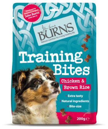 burns training bites