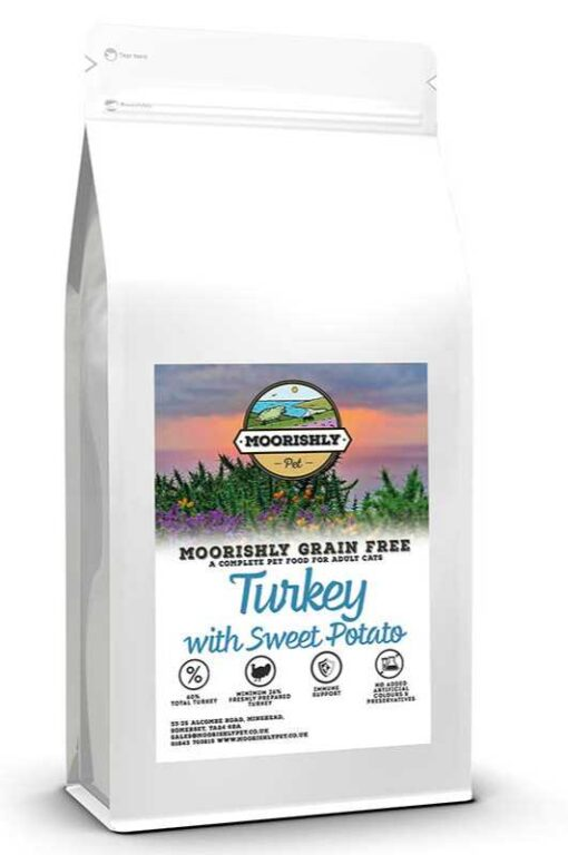 Moorishly Cat food with turkey
