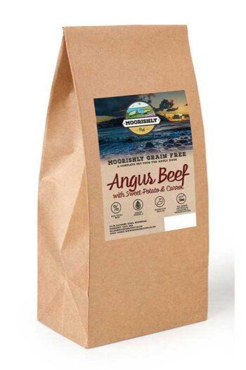 Moorishly Dog Food with Angus Beef