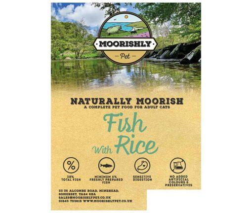 Naturally Moorish Quality Fish with Rice Cat Food