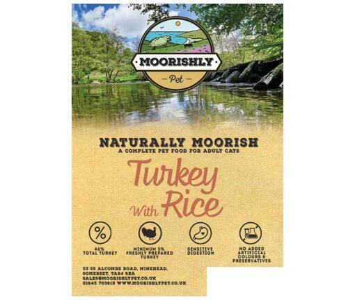 Naturally Moorish Quality Turkey with Rice Cat Food