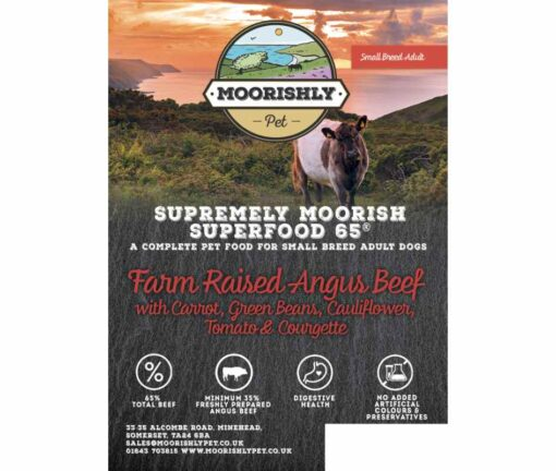 Small Breed Dog Food with Angus Beef