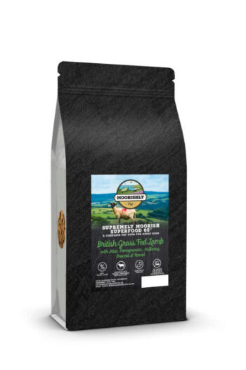 Supremely Moorish SUPERFOOD 65 ADULT Dog Food with Grass Fed Lamb