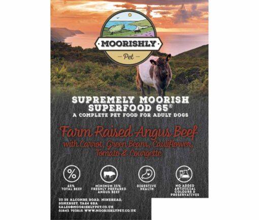 Superfood 65 Adult Dog Food with Angus Beef